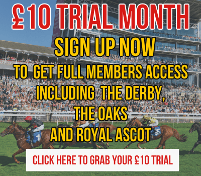Cleeve Racing Ascot £10 month trial