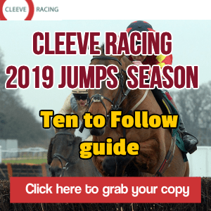 Cleeve Racing's Jumps season Ten to Follow report
