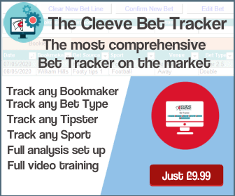 Cleeve Bet Tracker